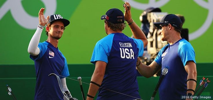 U.S. Olympic Team ‏@TeamUSA  11h11 hours ago Congrats on the SILVER, @USAArchery - those shots were on point! http://go.teamusa.org/2aR0YuO