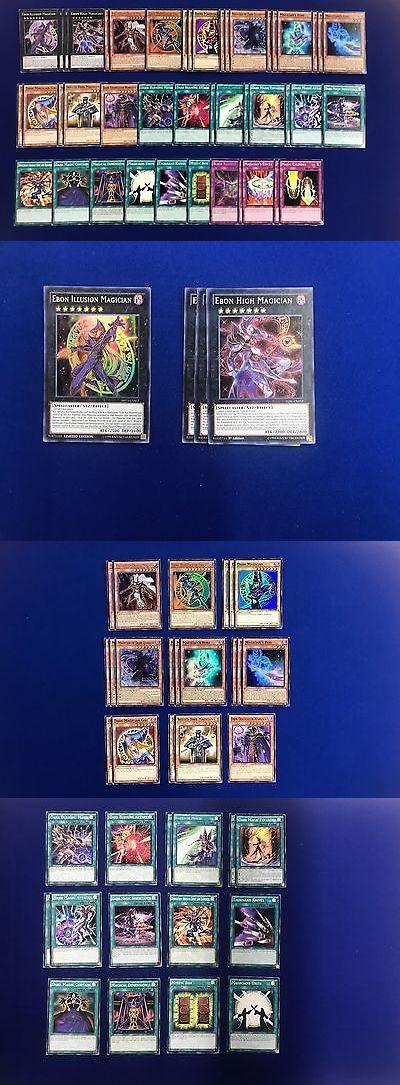 Yu-Gi-Oh Individual Cards 31395: Yugioh Yugi Moto Dark Magician Deck Ebon High Dark Illusion Magician S Robe Rod -> BUY IT NOW ONLY: $49.99 on eBay!