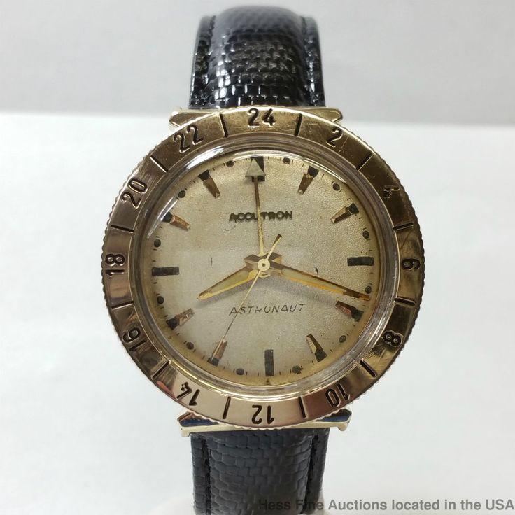 Scarce Bulova Accutron Astronaut 214 Vintage 1963 Watch  #Bulova #Sport