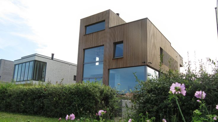 Modern self build home in Amsterdam, design BNLA architecten