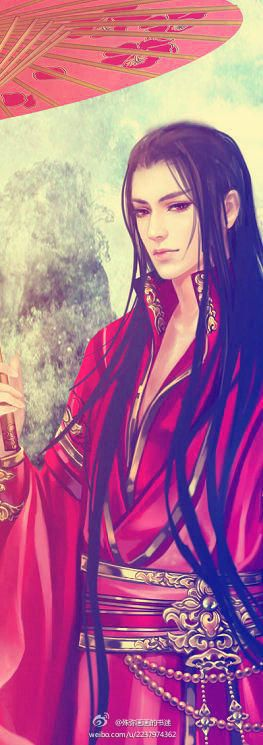 Not Tolkien-Fanart, but this could be Feanor