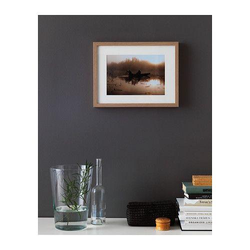 30x40cm 6€  RIBBA Rahmen - Eicheneffekt weiß lasiert - IKEA