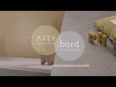 Atlas Concorde ARTY&BORD #WoodLook #PlasterLook - YouTube