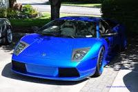 Mobil Terbaik Dunia: Mobil Lamborghini Warna biru