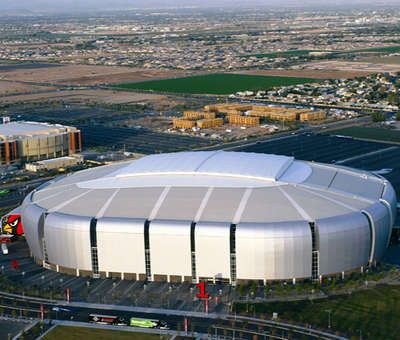 University of Phoenix Stadium.  The home of the Cardinals!