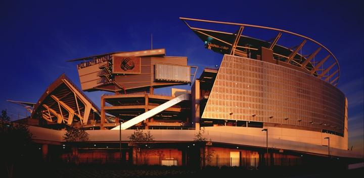 Paul Brown Stadium : home of the Cincinnati Bengals