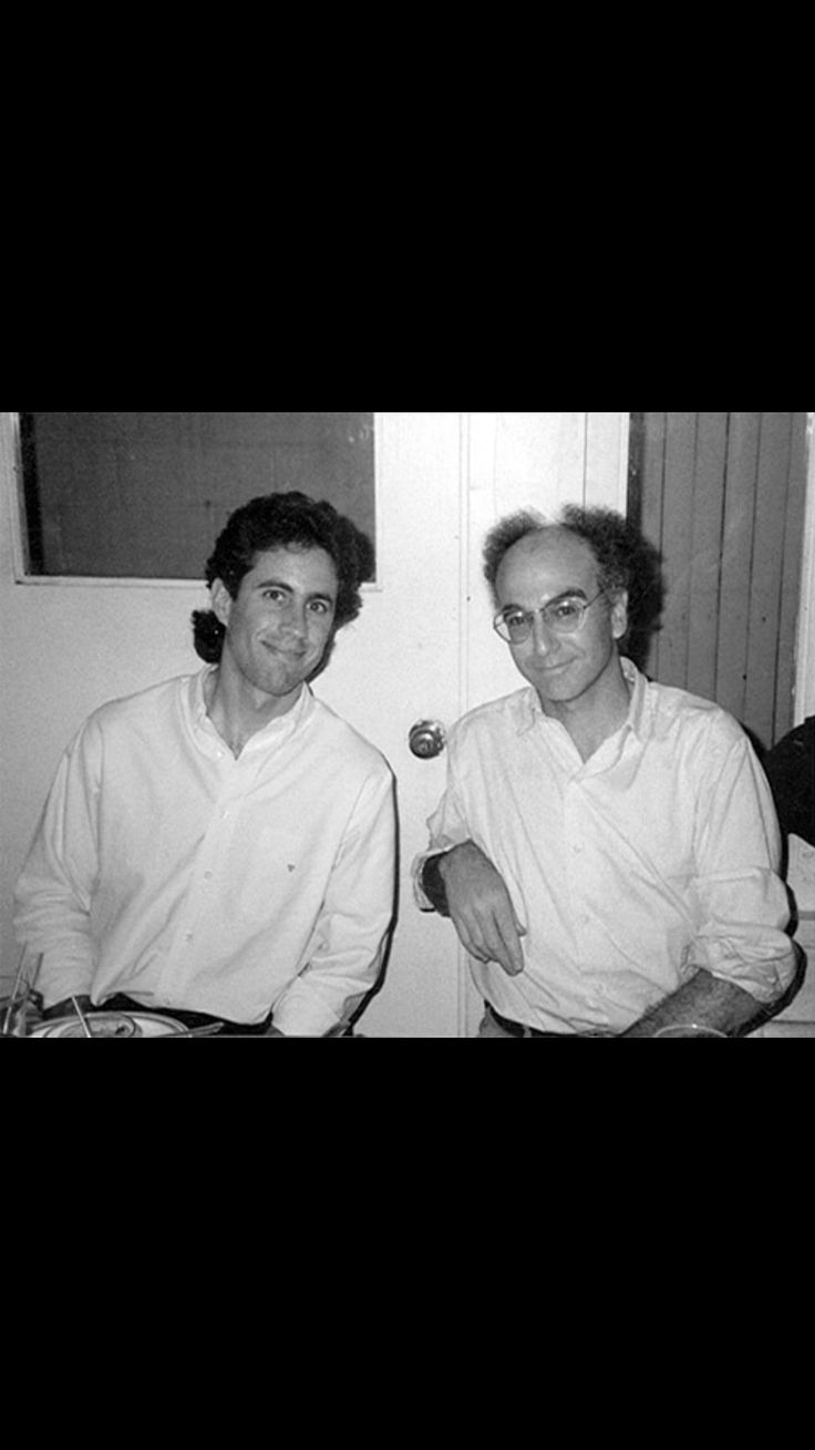 Jerry Seinfeld, Larry David