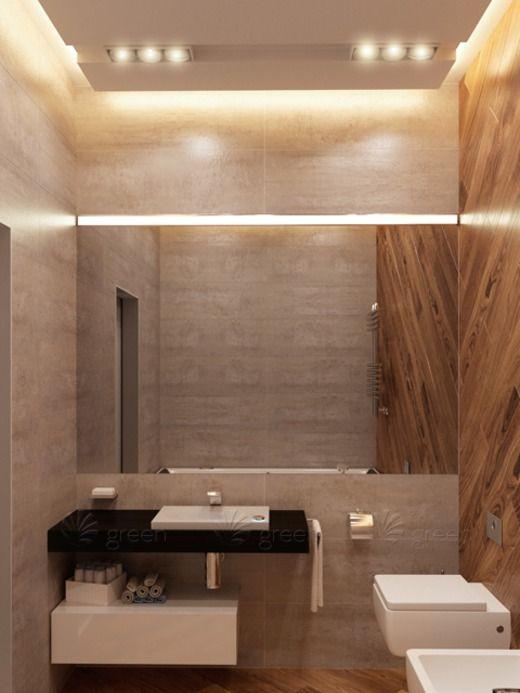 Квартира для молодой пары в стиле лофт. Ванная