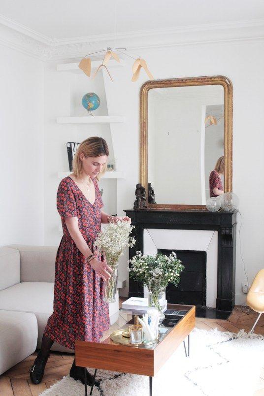 Appartement Parisien Retro // Hëllø Blogzine blog deco & lifestyle www.hello-hello.fr