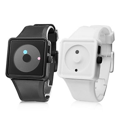 These watches are so cool! They are a silicone band with the watch part! I would wear one of these all the time!