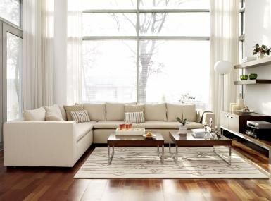 How to Use Empty Space in Arranging Furniture: Use empty space to create flow