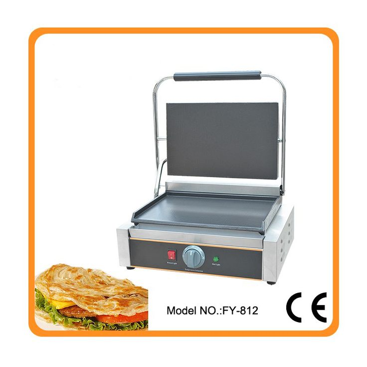 Restaurant equipment for sale commercial Thermostat electric cast iron griddle machine/commercial electric contact grill
