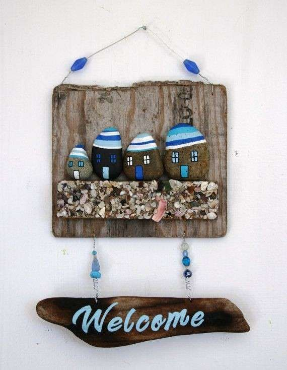 Decorare casa con i sassi - Welcome