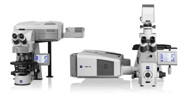 #ZEISS LSM 780.  The sensitivity of LSM 780 is quite simply outstanding. The GaAsP detector achieves 45 percent quantum efficiency compared to 25 percent typically by conventional PMT detectors.