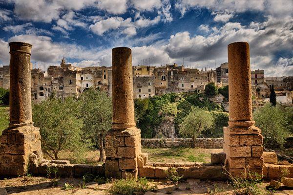 """Panoramica """"Madonna della Stella"""". Gravina in Puglia, città d'arte."""