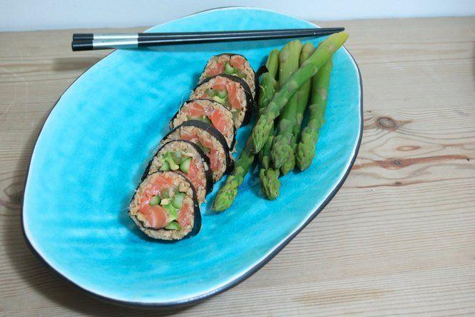 Kalorifattig og proteinrik sushi