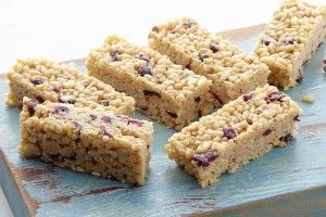 Healthier lunchbox bars