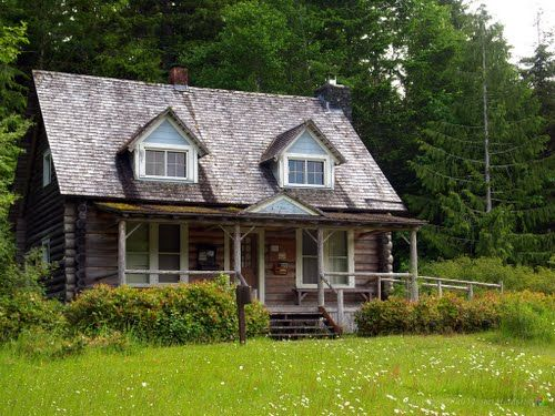 Storm King Ranger Station in the scenic Olympic Peninsula