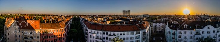 Vor Sonnenuntergang Berlin-Schöneberg - Before sunset Berlin-Schöneberg