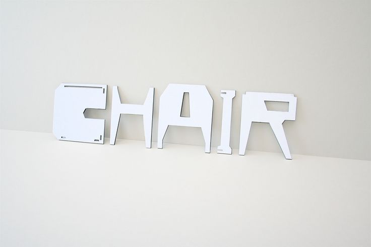 Eric Ku, CHAIR / CHAIR, 2010 | #design #furniture
