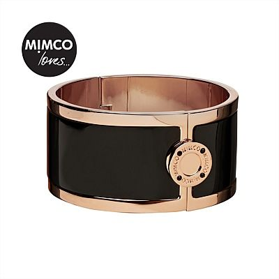 Mimco Loves | Jewellery by Mimco - Wide Hinged Cuff