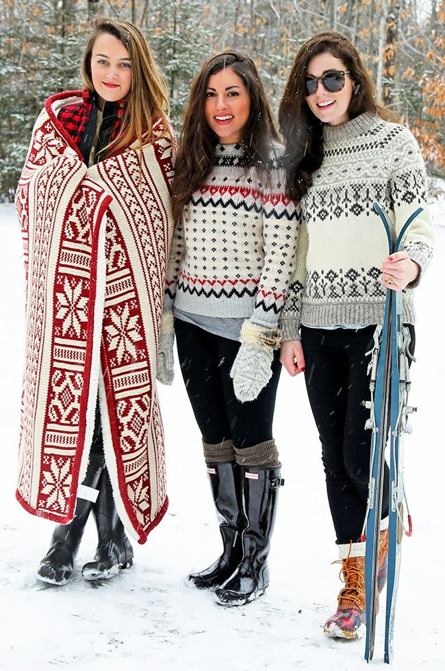 Have you perfected your mountain chic style for the slopes? Winter will be here before we know it!