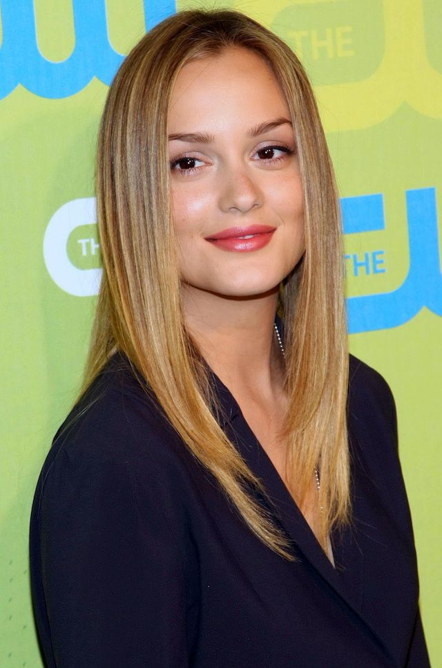 "Leighton Meester's hair has been an important topic of conversation since she was casted as the infamous brunette, Blair Waldorf.  But before her days on Gossip Girl, Leighton actually looked more like a ""Serena"" with her blonde hair."