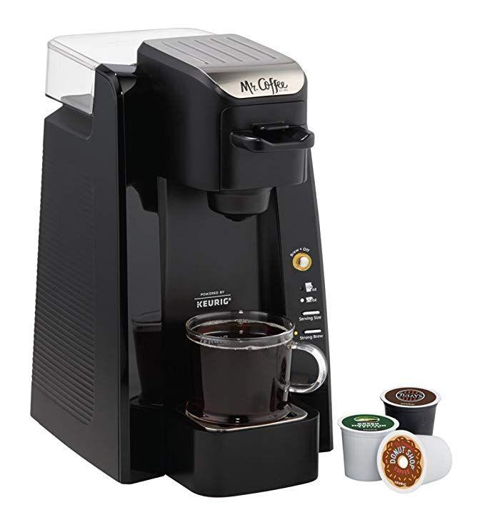 Mr Coffee Bvmc Sc500 1 Single K Cup Brewing System 24 Oz Black