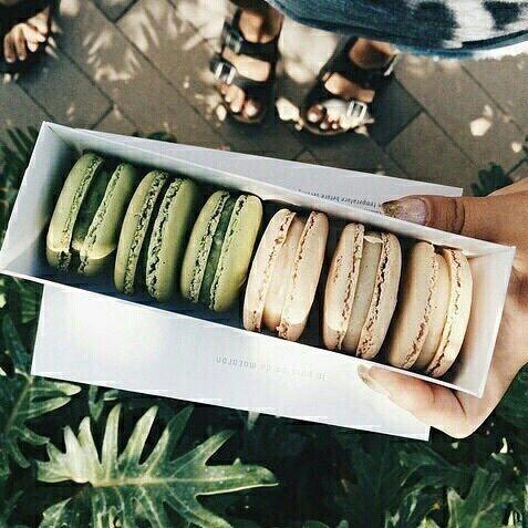 macarons & neutrals