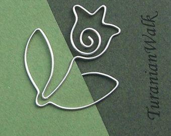 Fender Gitarre Draht-Lesezeichen von TuranianWalk auf Etsy