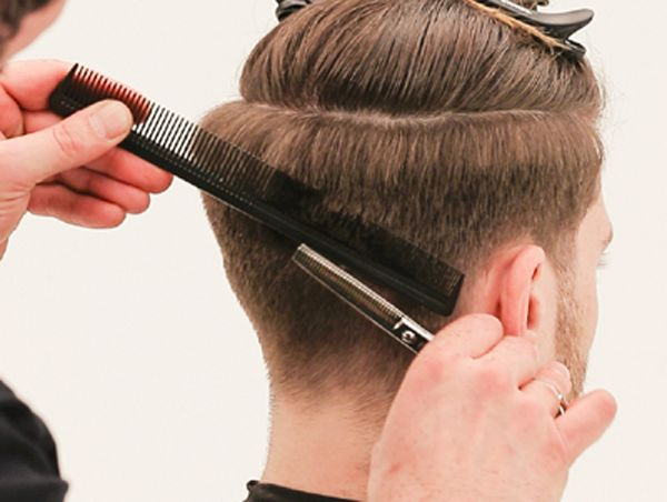 Mens ScissorOverComb from TONIGUY  HOWTOs  Combover hairstyles Hair cuts Hair scissors
