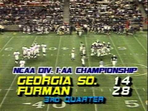 1985 I-AA National Championship - Georgia Southern vs Furman