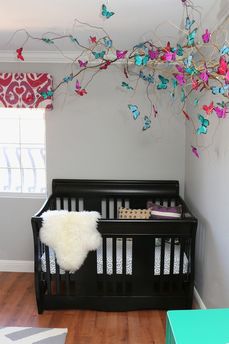 Design by Numbers | Butterfly Nursery | http://designbynumbers.com