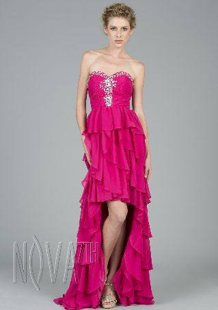 jersey high neck sheath knee length prom dress with embroideryand beading detailing