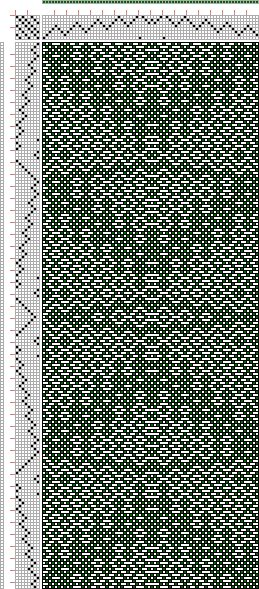 Hand Weaving Draft: cw187053, Crackle Design Project, Ralph Griswold, 8S, 8T - Handweaving.net Hand Weaving and Draft Archive