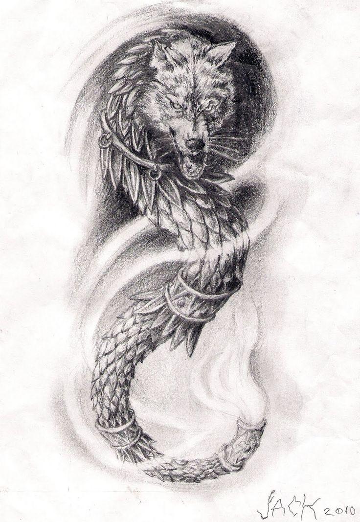 lupul dacic tatuaje - Google Search