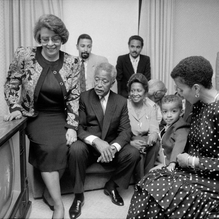 Unpublished Black History in Honor of Black History Month   Hundreds of stunning images from black history, drawn from old negatives, have long been buried in the musty envelopes and crowded bins of the New York Times archives. None of them were published by The Times until now.  David Dinkins Watches Himself Make History  In the New York City Democratic mayoral primary race against Ed Koch, David Dinkins was always the underdog. Without the support of the city's powerful p