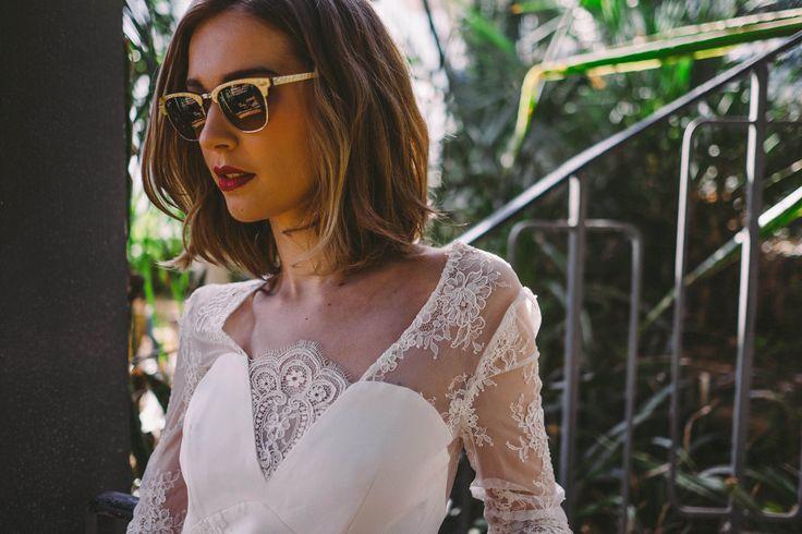 La robe de mariée Juliette de la collection 2016 Tropical Paradise de Caroline Takvorian.