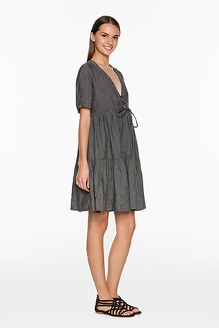 TWIN-SET Simona Barbieri :: SS15 :: Dresses :: Linen Kaftan Dress :: T2S54J