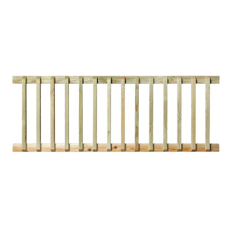 Best Pressure Treated 6 Ft Handrail 132380 Wood Railing 400 x 300