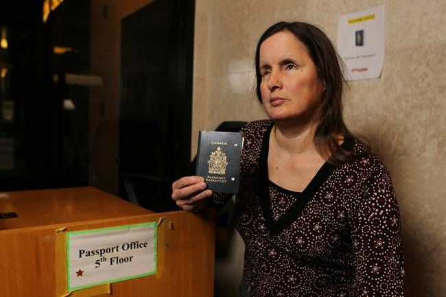 Date: May 7, 2017 Rebecca Blaevoet, who is blind is fighting for better customer service access for the visually impaired at Passport Canada in Windsor.  The federal government says it's reviewing a policy that forbids staff in Canada's passport offices from helping disabled applicants fill out their forms.