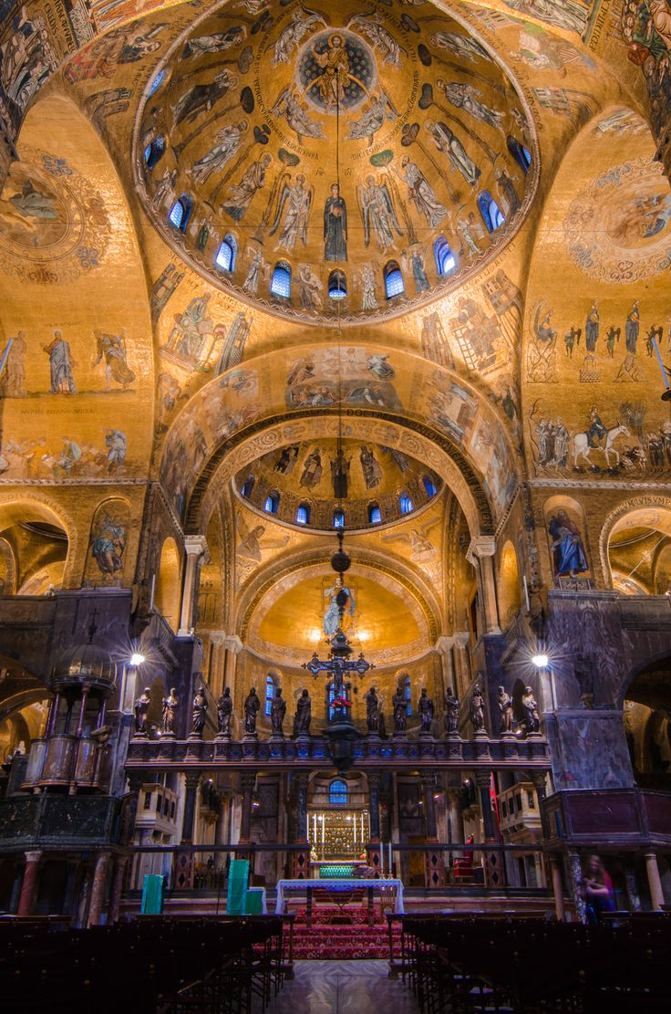 the beauty of the interior of st marks cathedral in venice italy Skip the line at st mark's basilica – venice travel skip-the-line at st mark's cathedral and discover its precious interiors and venice, italy duration: 2.