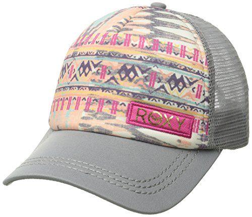 Roxy Women's Truckin Sunset Bay Trucker Hat, Cool Grey, One Size - http://todays-shopping.xyz/2016/07/27/roxy-womens-truckin-sunset-bay-trucker-hat-cool-grey-one-size/