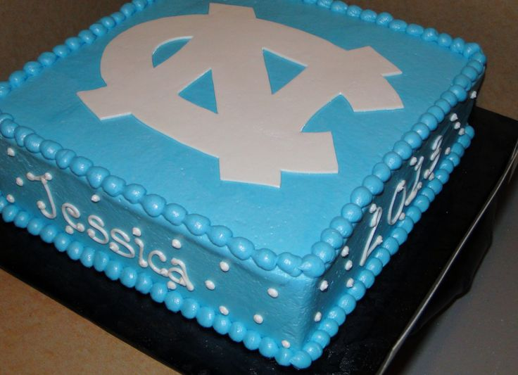 UNC logo cake (used with permission)