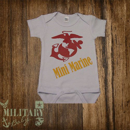 USMC Mini Marine Baby by MilitaryBaby2013 on Etsy, $15.00  https://www.etsy.com/listing/163366919/usmc-mini-marine-baby?ref=shop_home_active