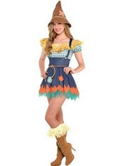 Adult Scarecrow Costume - The Wizard of Oz