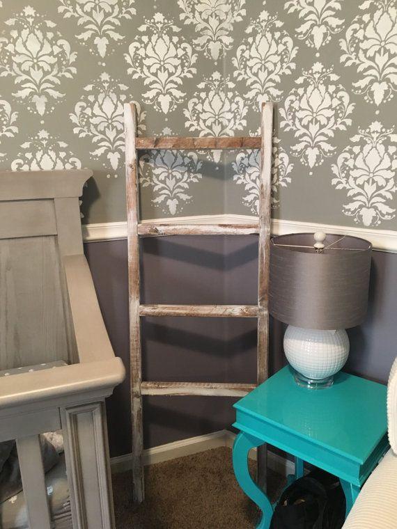 Blanket ladder towel ladder nursery ladder kids by DandEcustom