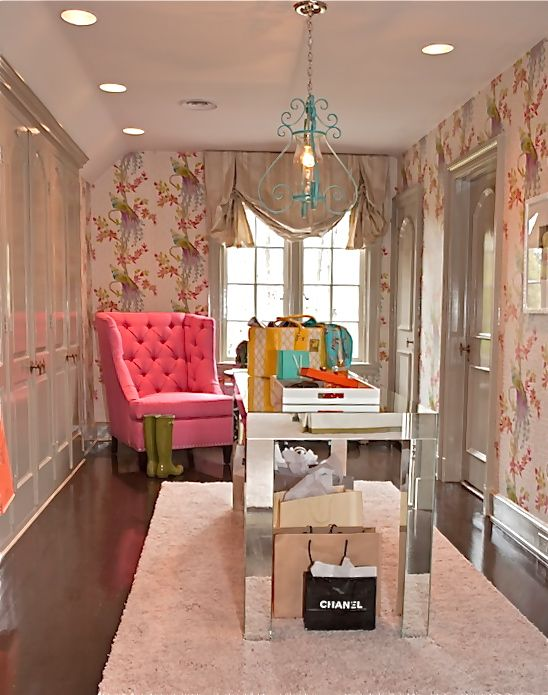 Beautiful, Feminine Closet And Dressing Room. Love! Part 60