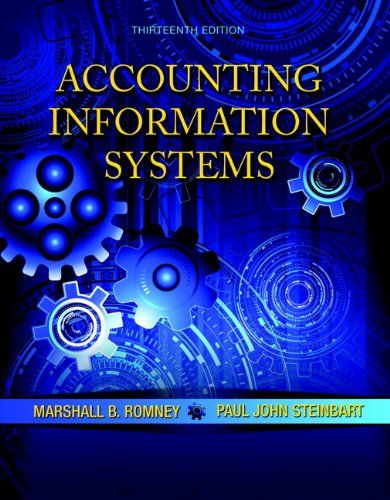 Accounting Information Systems (13th Edition) - http://www.darrenblogs.com/2016/08/accounting-information-systems-13th-edition/