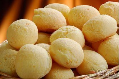 Receita de Pão de queijo com polvilho azedo - Comida e Receitas